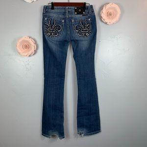 Miss Me Boot Embellished Pockets Sz 28 Pants K950